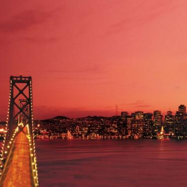 CA San Fran bay night