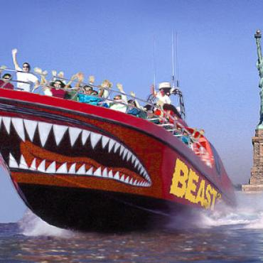 NYC Beast speedboat ride