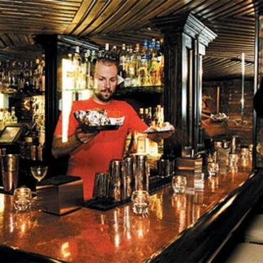 NYC East village bar