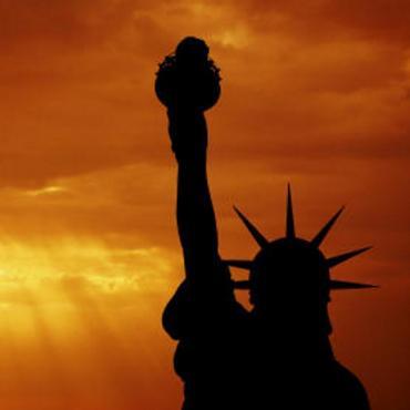 NY Sunset statue-of-liberty