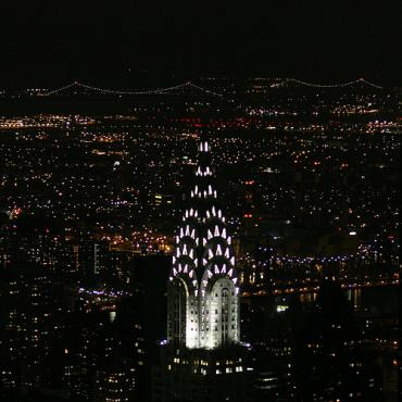 NYC Chrysler Building night