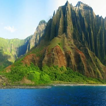 Hawaii Na Pali Coastline