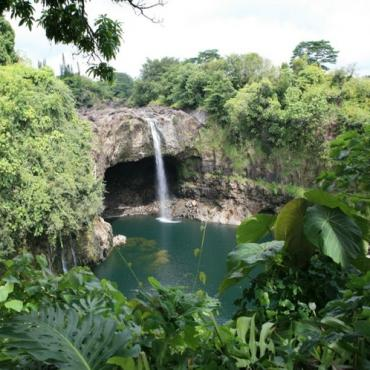 Hawaii Rainbow_Falls S P