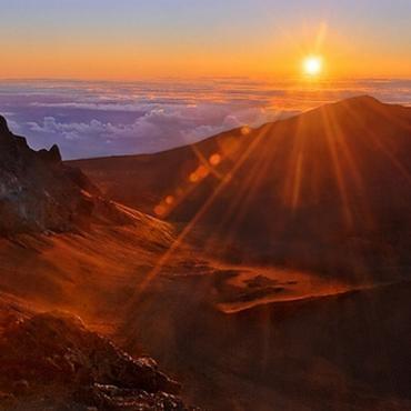 Maui, Haleakala-Crater