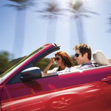 Convertible couple
