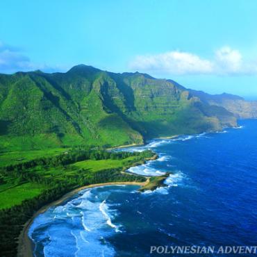HI PAT Kauai aerial view