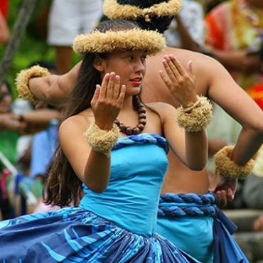HI Polynesian Cultural Centre dancer