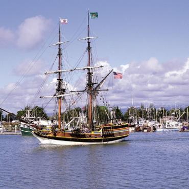 CA eureka marina