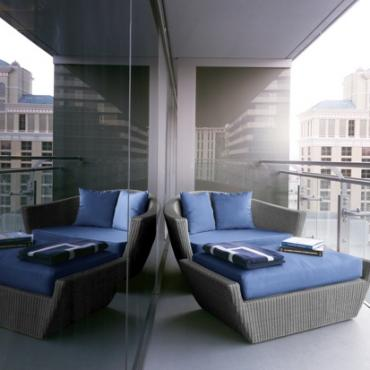 Cosmopolitan Terrace room balcony