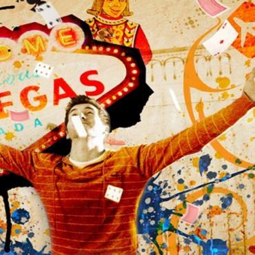 Las Vegas wall letterbox
