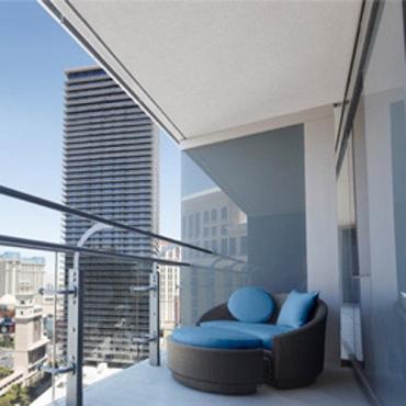 Cosmopolitan Terrace Studio LAS