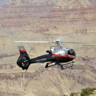 Maverick helicopter flying