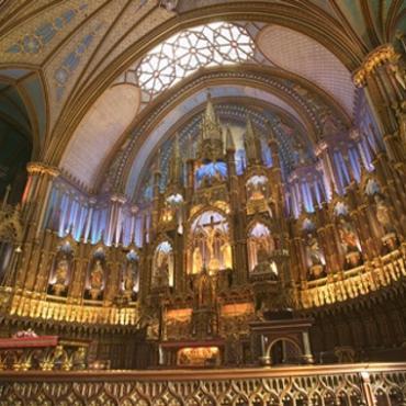 Montreal Notre Dame inside