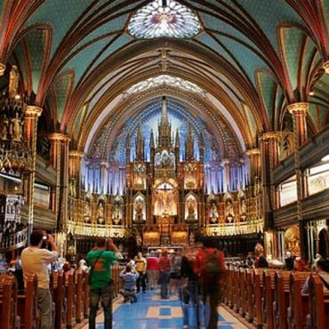 Montreal notre dame interior