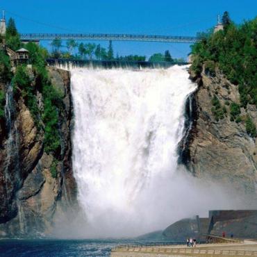 Quebec Montmorency Falls