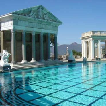 CA Hearst Castle pool