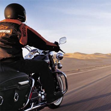 Harley Davidson bike trip