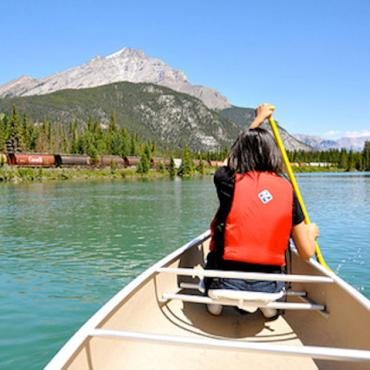 Canada canoeing