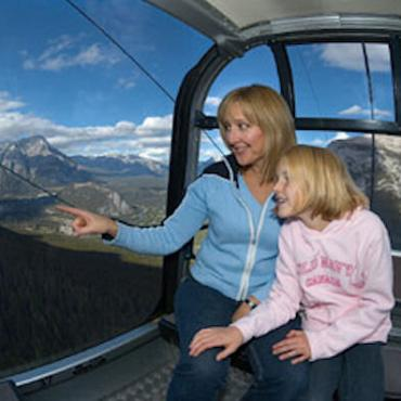 Al Banff gondola ride