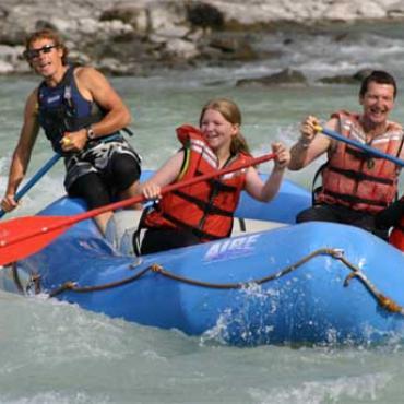 AL Jasper river rafting
