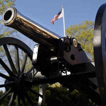 VA Fredericksburg cannon