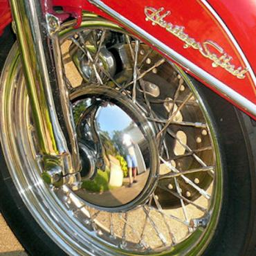 Harley Davidson heritage softail wheel