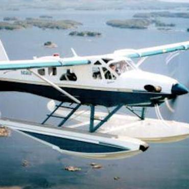 BC Float plane flight