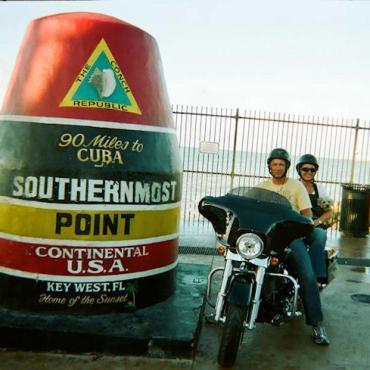 Fl Key West motorbikers