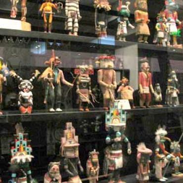AZ Heard museum katsina dolls