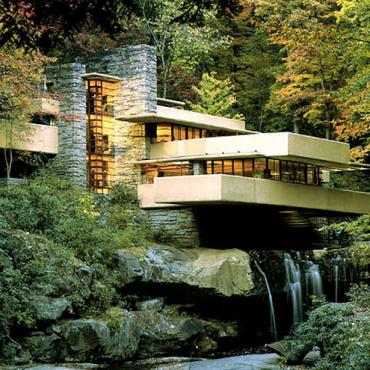 PA Fallingwater Frank Lloyd house.jpg