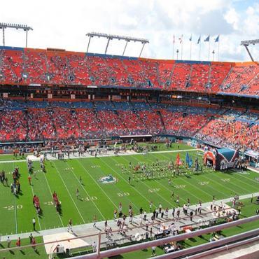 Dolphin Stadium Miami