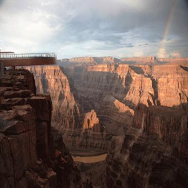 Grand Canyon View with skywalk