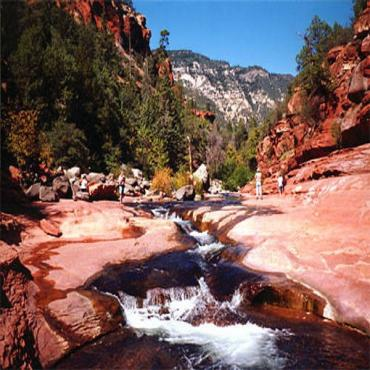 Slide Rock, Oak Creek Canyon