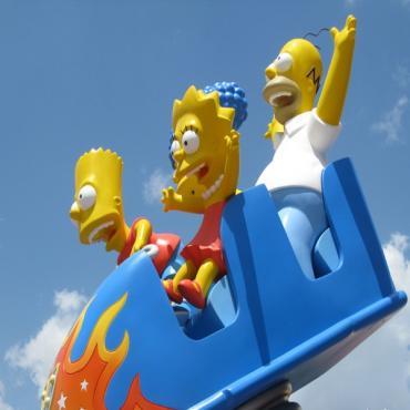 Simpsons Universal Studios