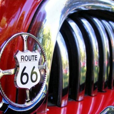 Rte 66 Red car grill.jpg