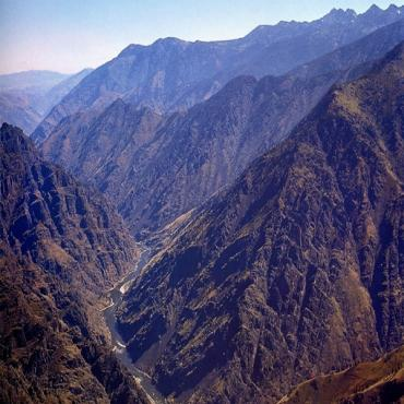 Hells Canyon Aerial